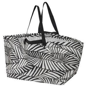 4x - SLUKIS Shopping bag, large, Leaf Pattern
